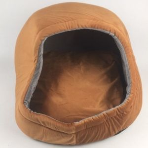 Small Pet Dog Cat Cave Bed